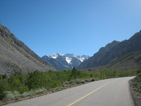 A weekend riding and camping in the Eastern Sierra Nevada Mountains